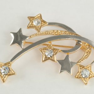 Multi Star Shooting Star Pin