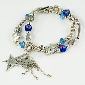 Detailed Star Stretch Bracelet